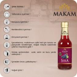 MAKAM GOLD Üzüm / Şıra 250 ML 12'li Paket